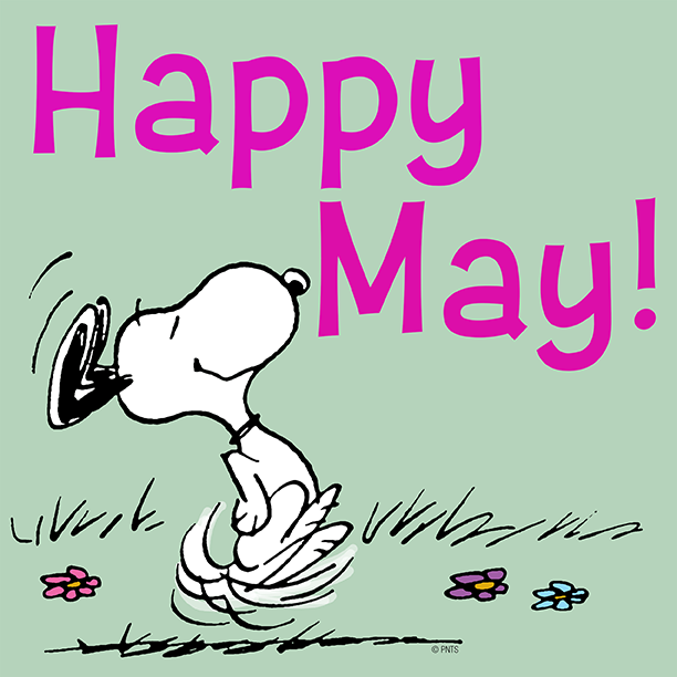Image result for snoopy may