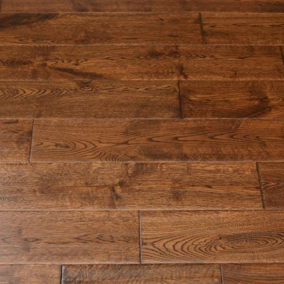 Oak Gunstock Dark 5 X2f 8 X 5 Quot Hand Scraped Engineered Hardwood Flooring Weshipfloors Flooring Engineered Hardwood Flooring Hardwood Floors
