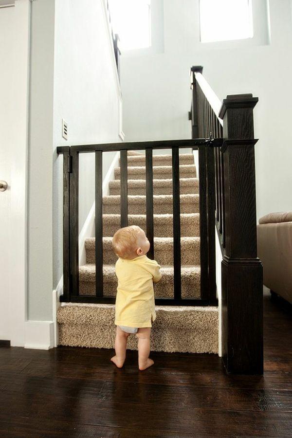 Treppenschutzgitter vermeiden gefährliche Risiken für Ihre ...