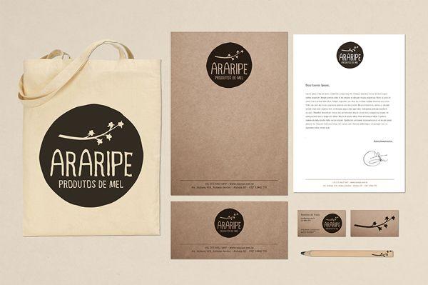 Araripe - Produtos de Mel by Raquel Prado, via Behance
