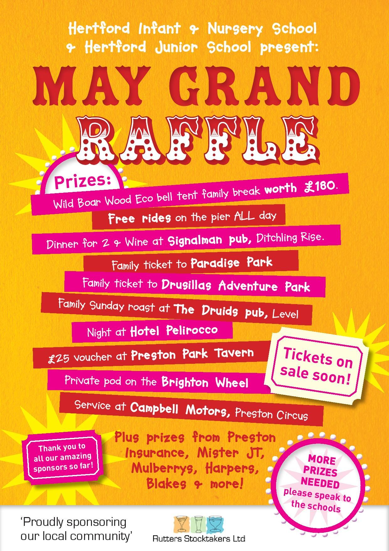 Hertford Raffle Poster 1