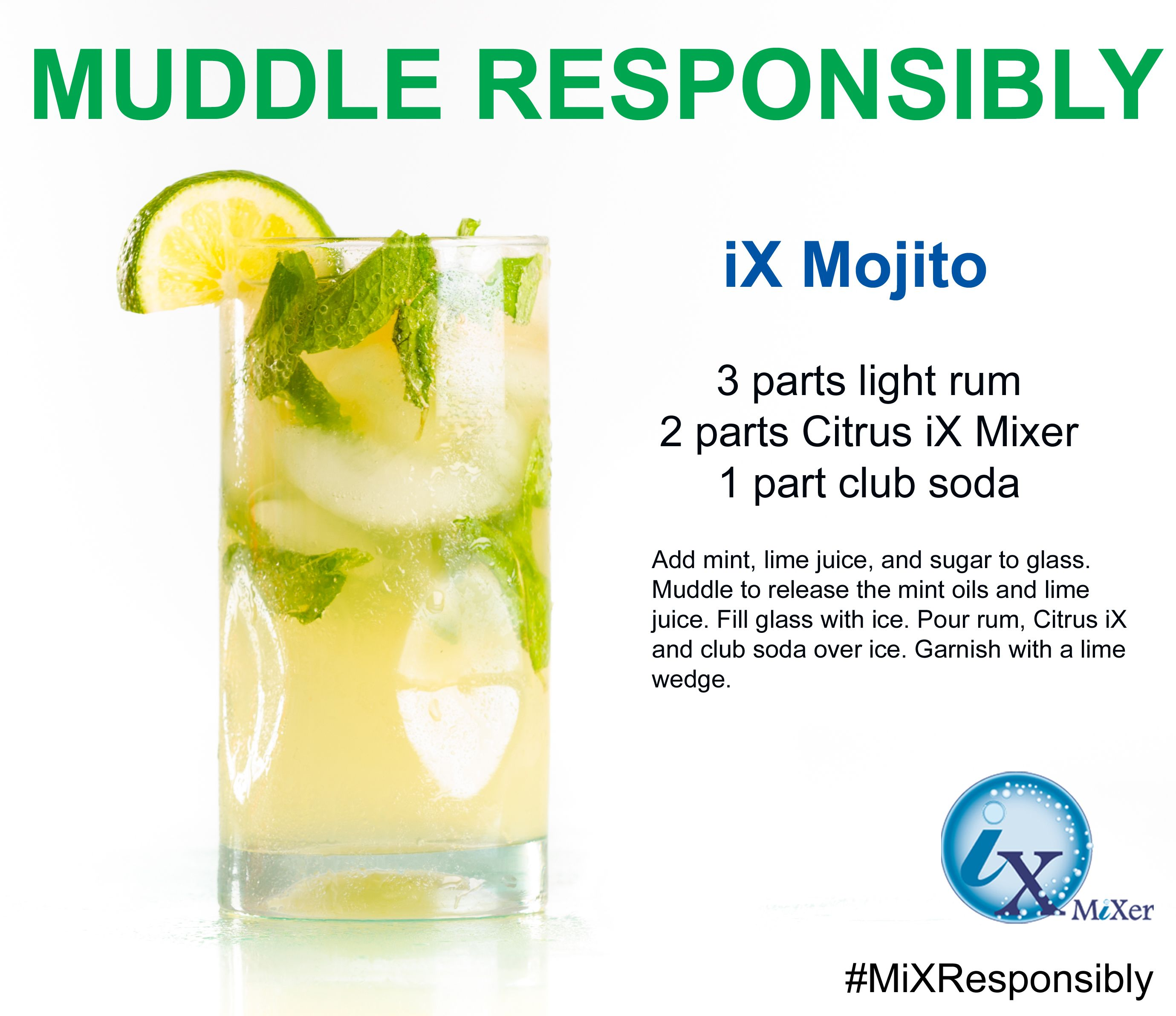 Mint And Summer Go Perfectly Together Check Out This Mojito Recipes Http Www Ixmixer Com Recipes Mint Oil Light Rum Mojito Recipe