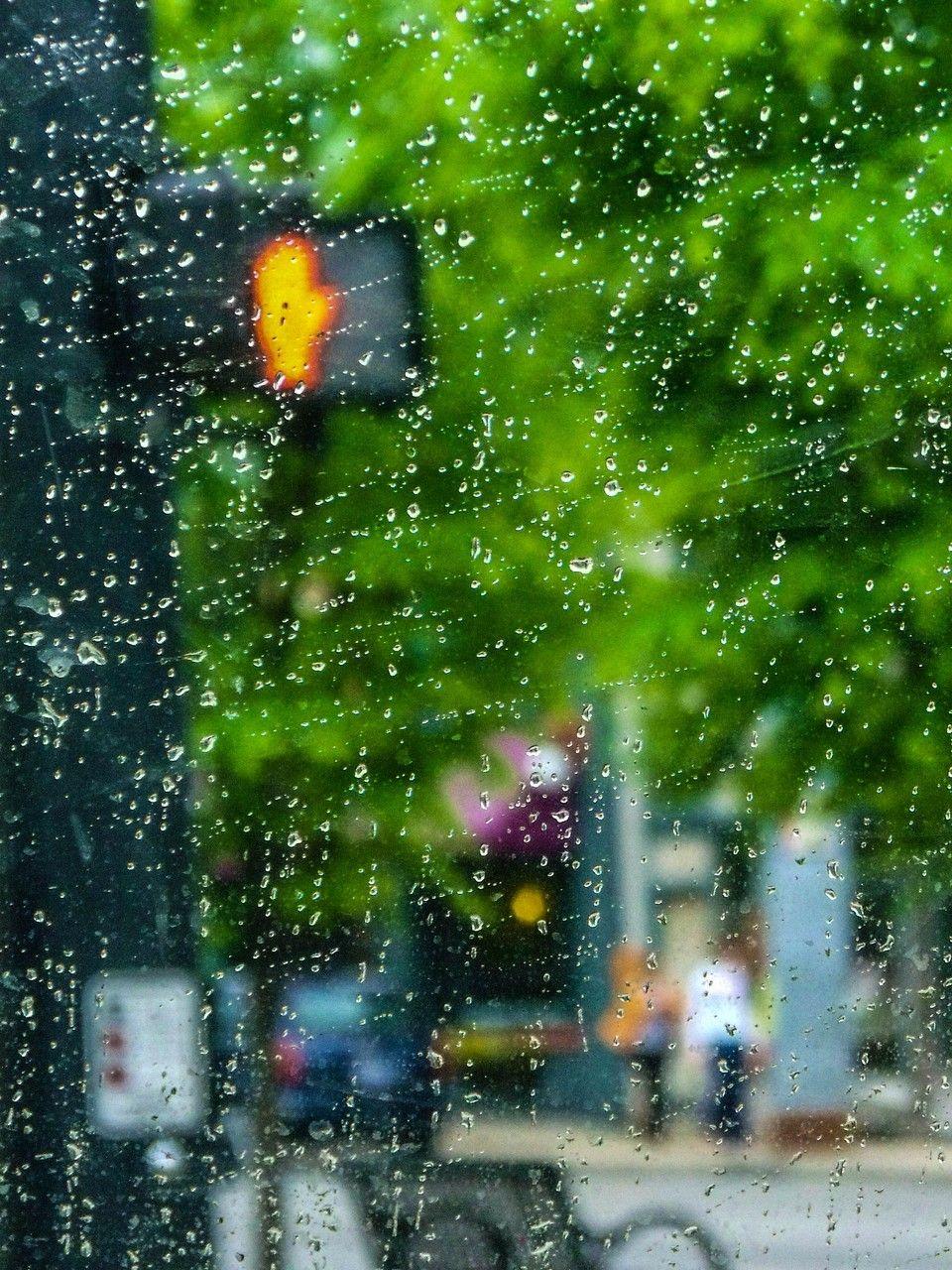 Rainy Background Hd
