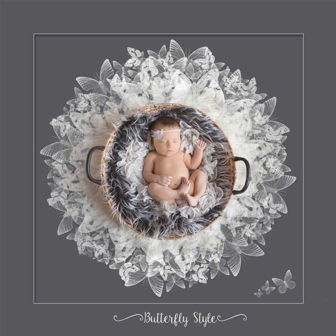 4040 045 Jpg Floral Set Vol 4 Photoshop Und Lightroom Templates Baby Fotoshooting Neugeborene Fotografie Posen Foto Baby