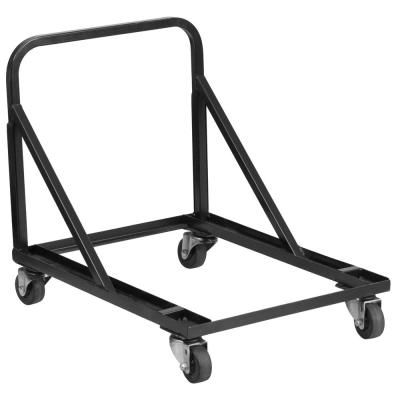 Carnegy Avenue Metal Dollies And Hand Trucks Utility Cart In Black In 2020 Black Metal Chairs Metal Chairs Furniture Dolly