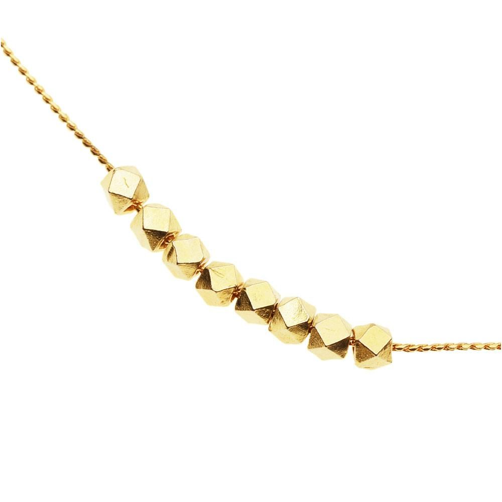 Photo of Goldene Ellipsen-Halskette