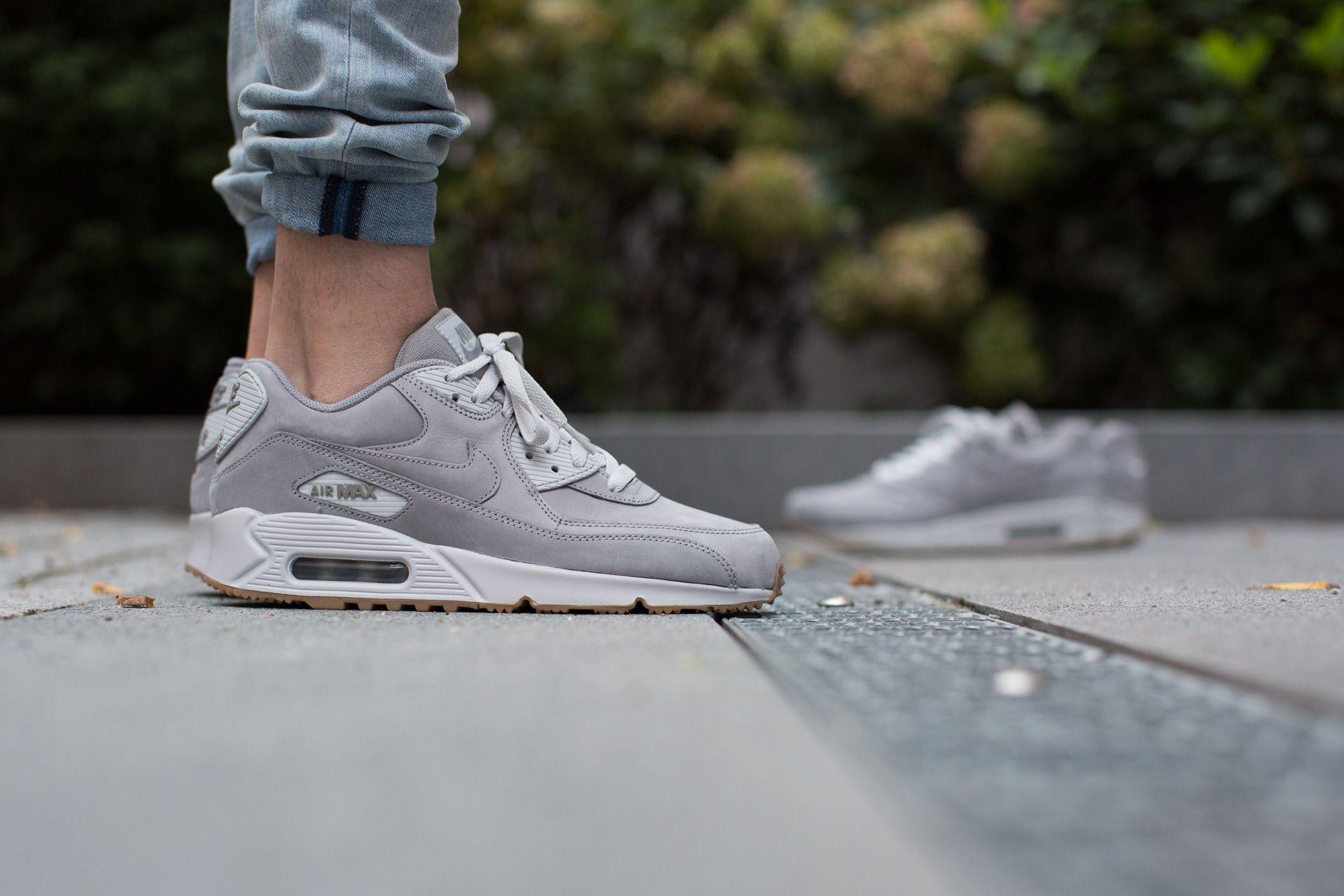 Nike Air Max 90 Winter Premium Medium Grey | SneakerFiles