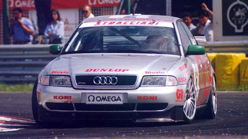 Audi Motorsport Blog: Emanuele Pirro, Dindo Capello and the Audi A4 quattro dominated the 1995 Italian Superturismo