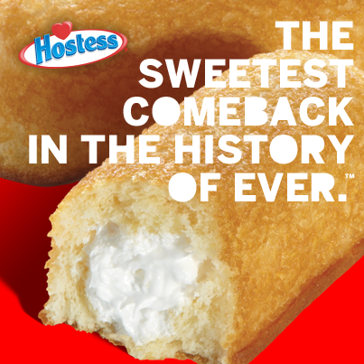 hostess #twinkies The #sweetest comeback in the #history of