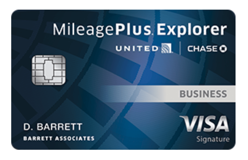 chase united business explorer card new 100k bonus