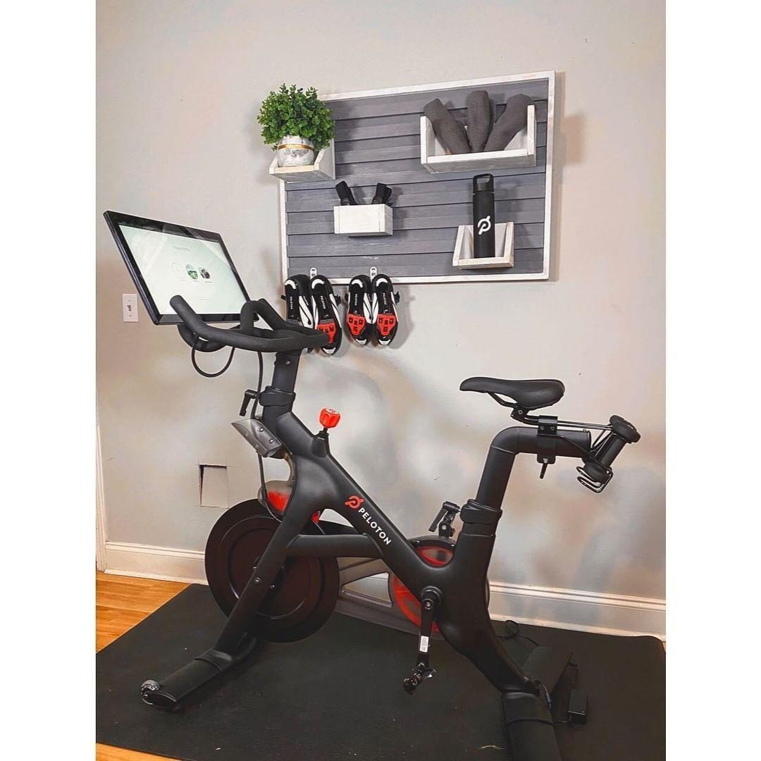 Peloton Onepeloton Instagram Photos And Videos In 2020 Gym Room At Home Home Gym Decor Peloton Bike