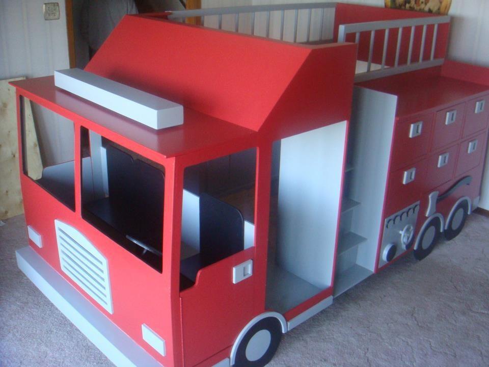 Firetruck Bed So Fun Design By Spots 4 Tots Llc In