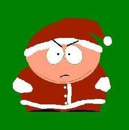 cartman santa from south park south