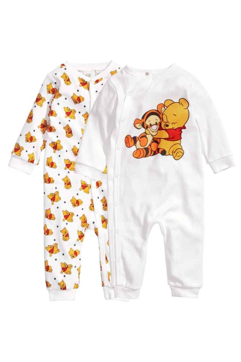 634184090 Lot de 2 pyjamas | H&M Articulos Para Bebe, Niños Y Padres, Pijamas Para