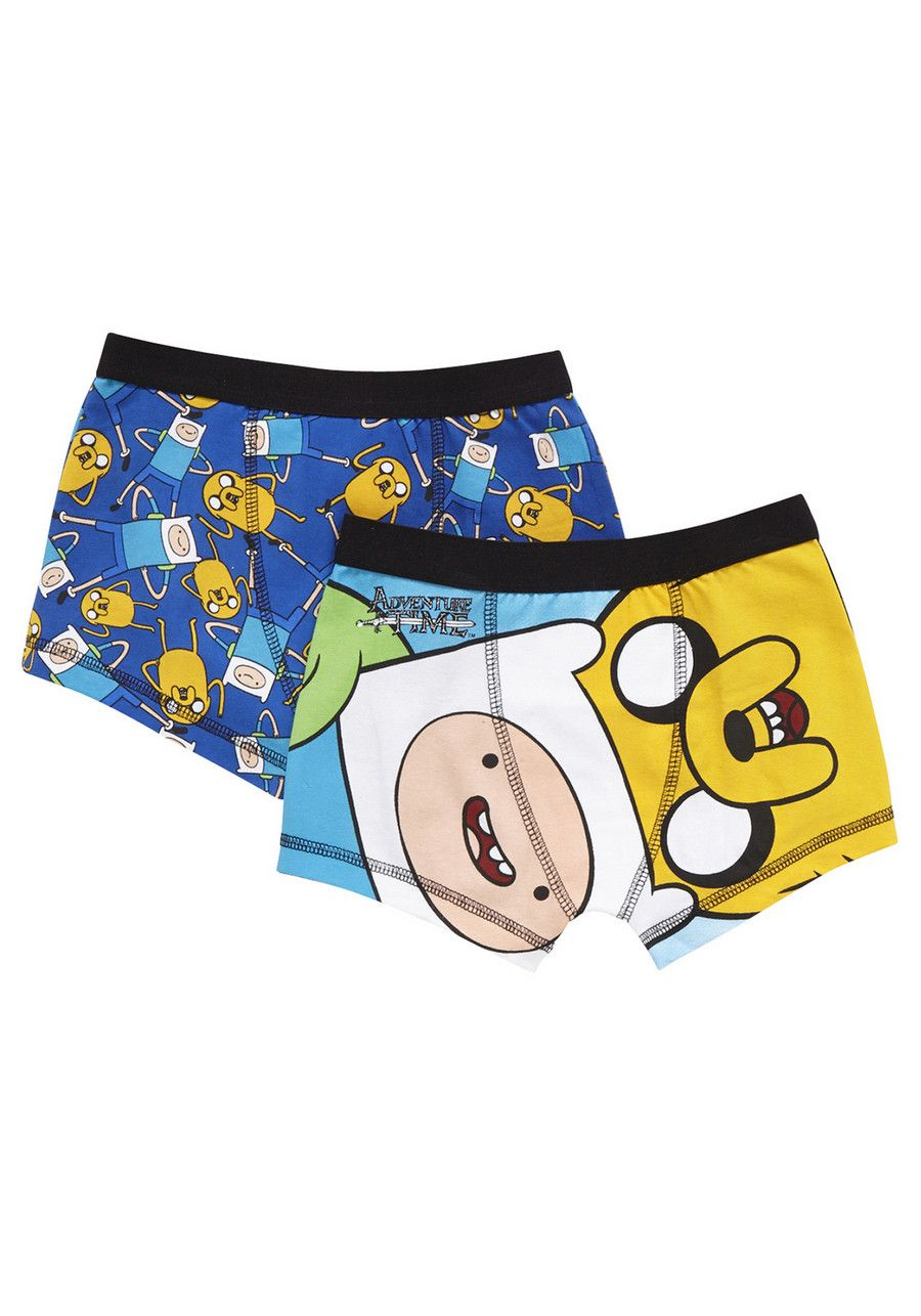 170de22f2af6 Clothing at Tesco | Cartoon Network Adventure Time 2 Pack of Trunks >  underwear > Socks & Underwear > Kids