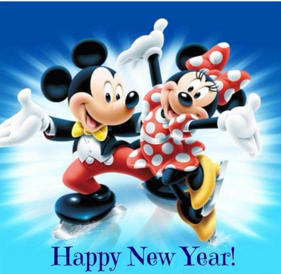 Happy New Year! Disney mickey, Disney happy new year