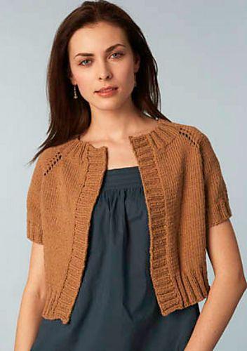 591357d79 Cropped Raglan Sweater pattern by Lion Brand Yarn