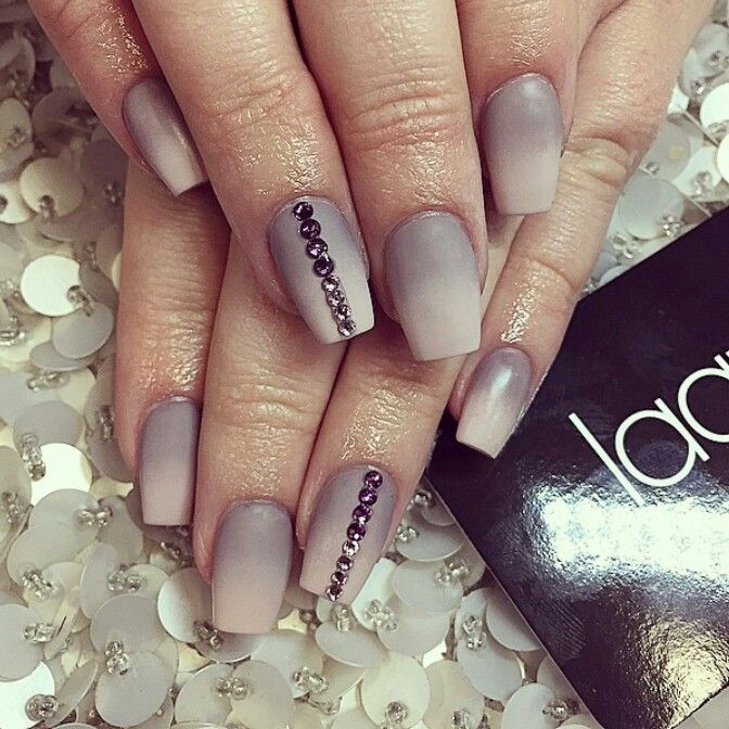 Beige and Grey ombre