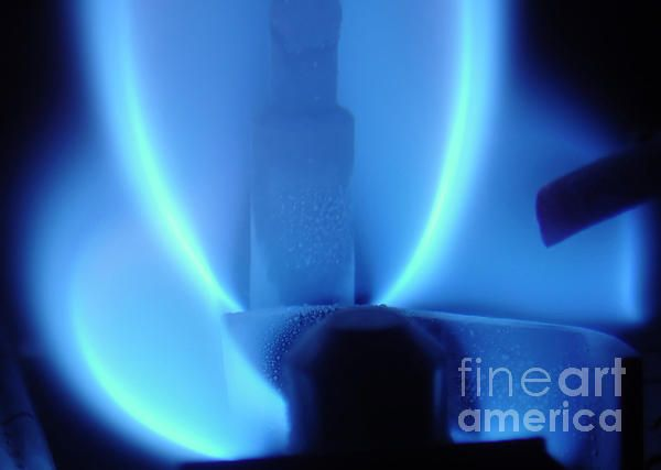 Blue Flame Abstract By Modern Abstract Heating Hvac Hvac
