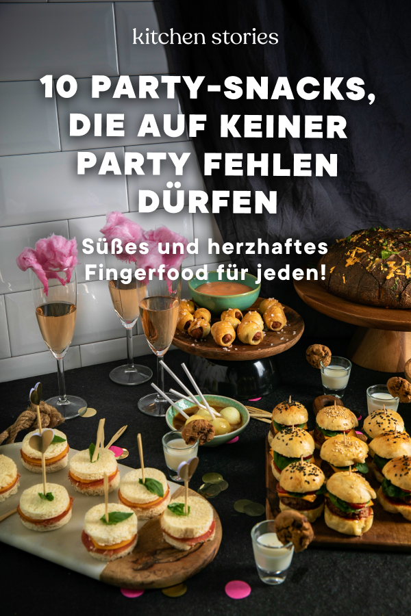 10 Party-Snacks, die auf keiner Party fehlen dürfen
