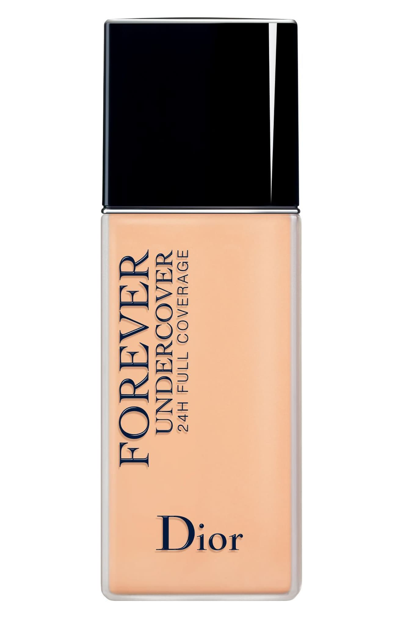 Dior Diorskin Forever Undercover 24 Hour Full Coverage Liquid Foundation 023 Peach Foundation For Oily Skin Dior Makeup Dior Foundation