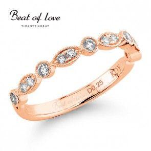 Beat Of Love, timanttisormus, R-0902DRG