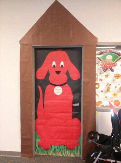 Prime Clifford The Big Red Dog School Hallway Decorations Machost Co Dining Chair Design Ideas Machostcouk