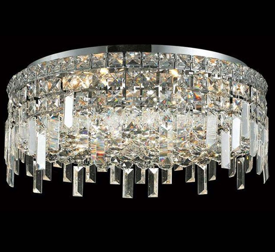 Maxim Collection 20 Dia Large Flush Mount Crystal Ceiling Light Crystal Ceiling Light Ceiling Lights Flush Mount Ceiling Lights