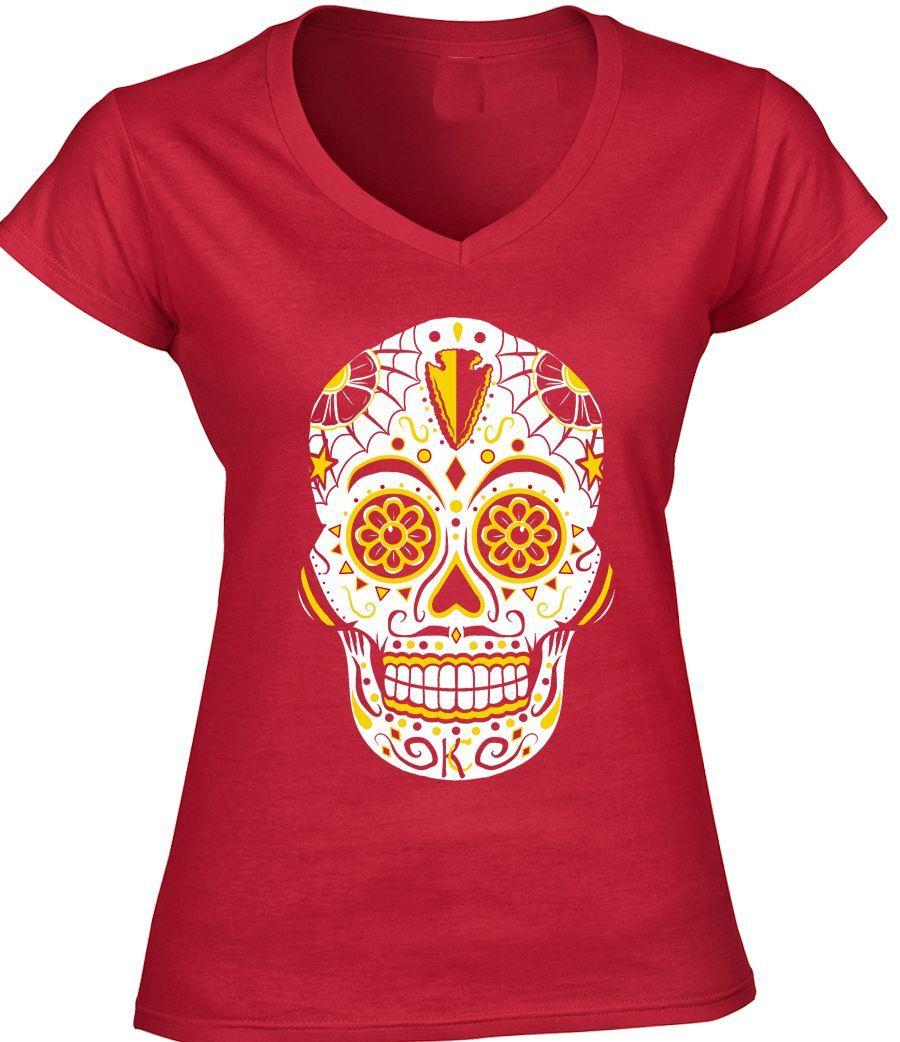 Kansas City Football Sugar Skull Gear Pinterest Badly Drawn Tshirt Short Circuit Mens Buy Online At Grindstore Chiefs