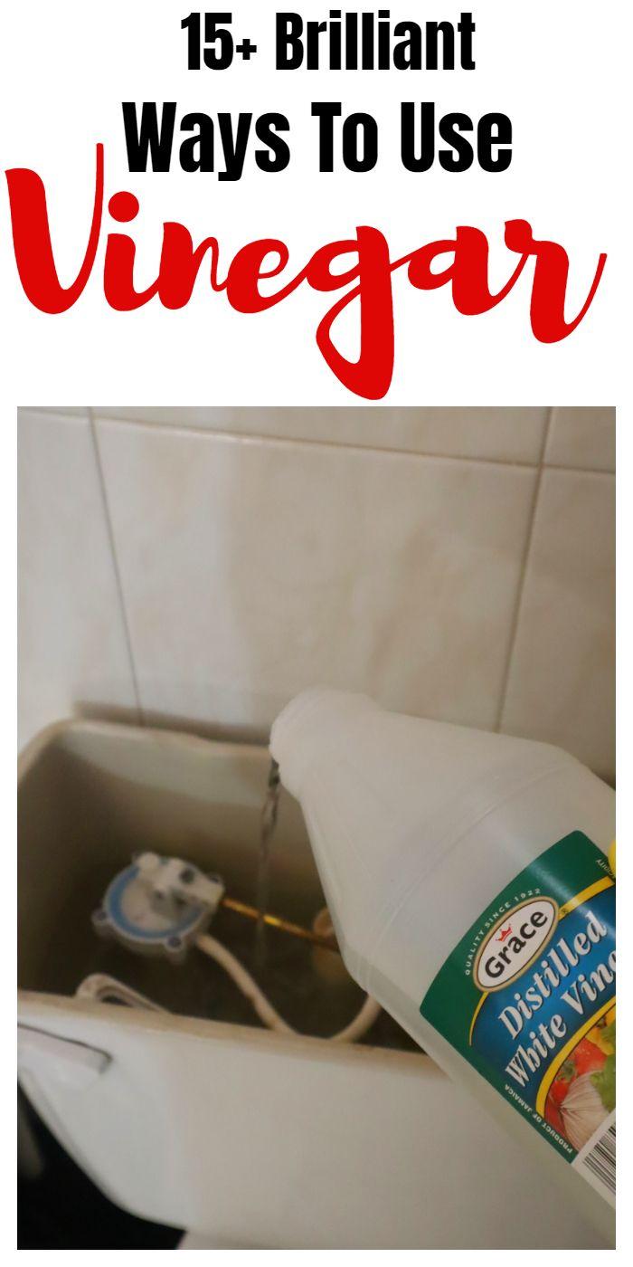 15+ Handy Vinegar Cleaning & Household Hacks