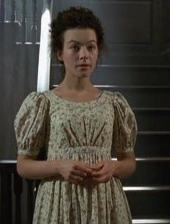 Elizabeth Gaskells's Wives and Daughters by BBC (1999) with Justine Waddell as Molly Gibson in flower dress