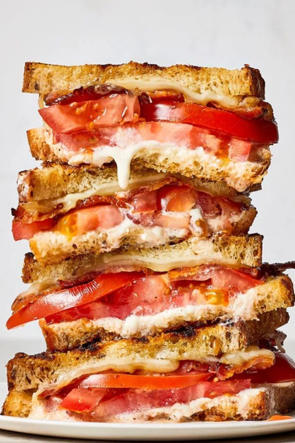 Ultimate Grilled Tomato Sandwiches Recipe Summer Sandwiches Tomato Sandwich Recipes Tomato Sandwich