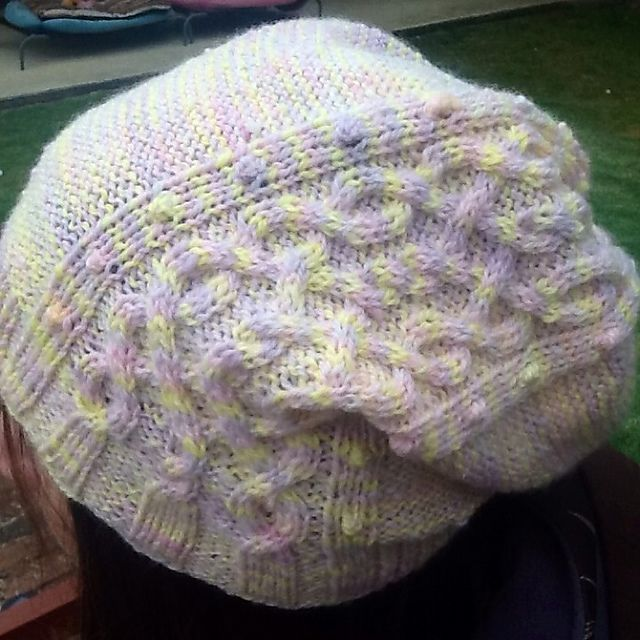 Ravelry: Twists of Fate Slouch Hat pattern by Cassy Farrell