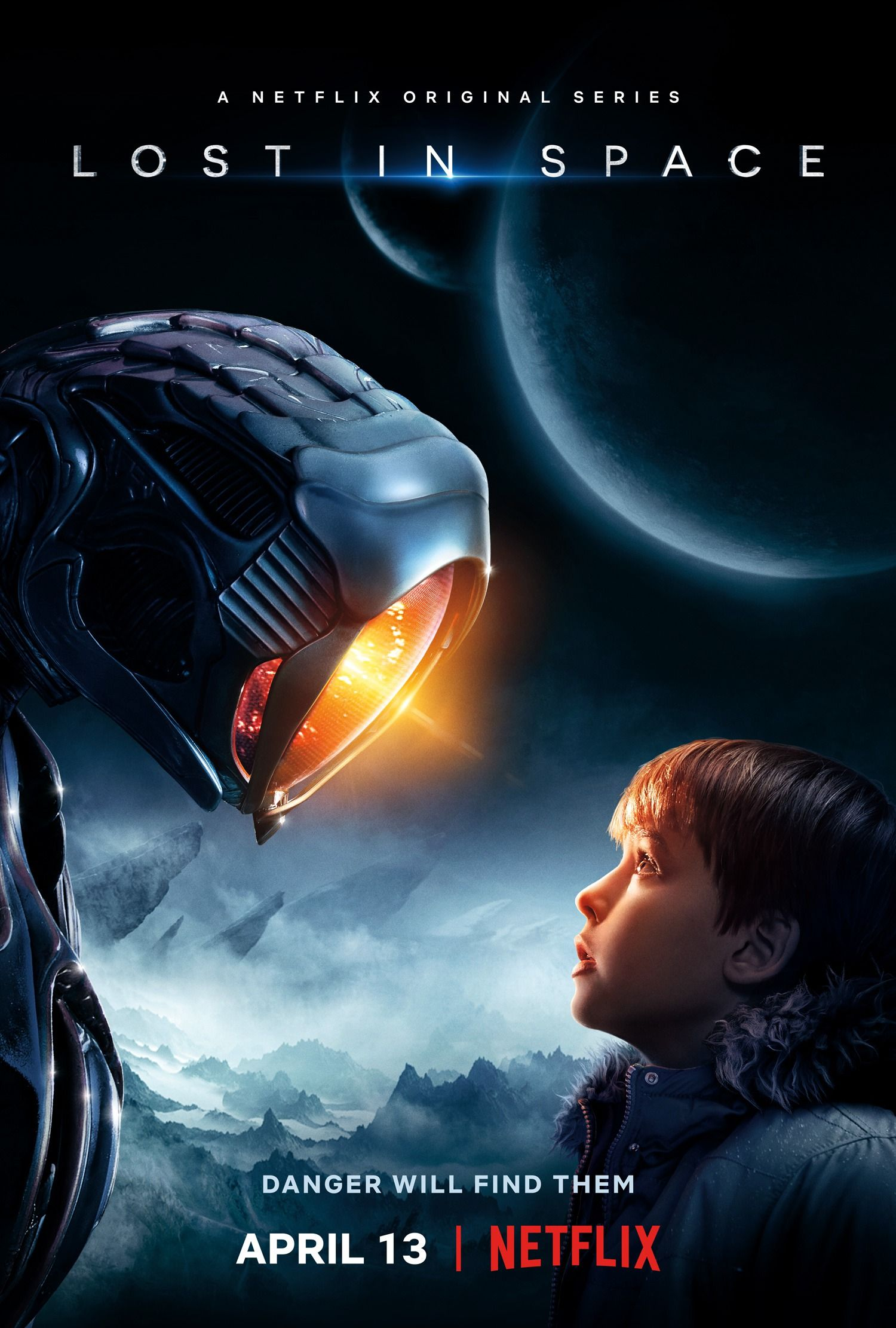 Mega Sized Movie Poster Image For Lost In Space Lost In Space
