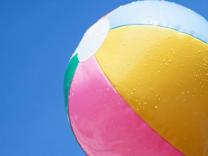 12 Summer Colors Summer Theme Beach Ball Summer