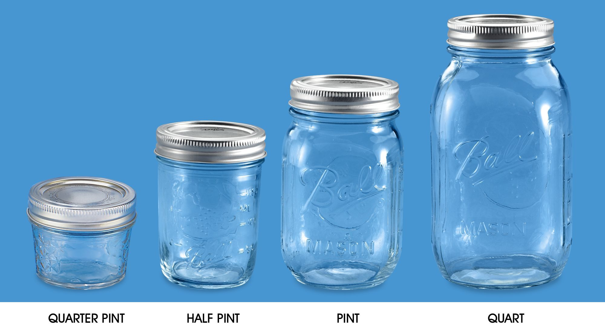 Canning Jars Mason Jars Amp Ball Jars In Stock Uline With