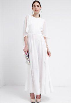 swing  długa sukienka  cremeweiß mit bildern  maxi kleider kleider mode