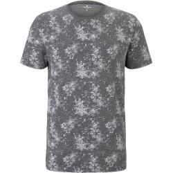 Photo of Tom Tailor men's t-shirt with all-over print, gray, patterned, size xxl Tom TailorTom Tailor
