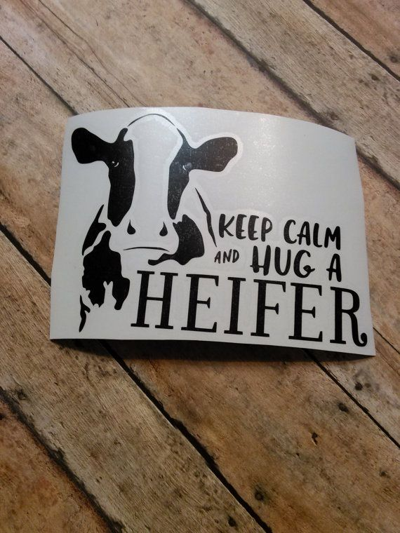 Best Way To Clean Car Windows >> Cow Vinyl Decal Cow Decal Farm Decal Life by ...