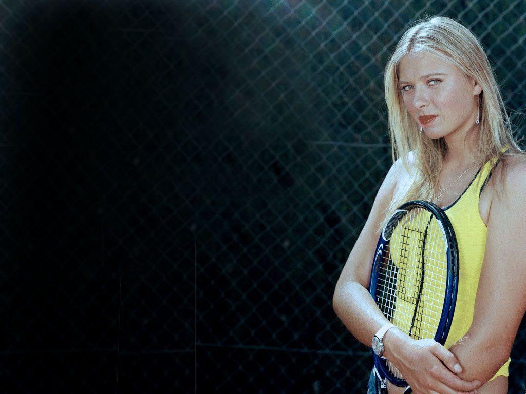 Maria Sharapova Hd Desktop Wallpapers