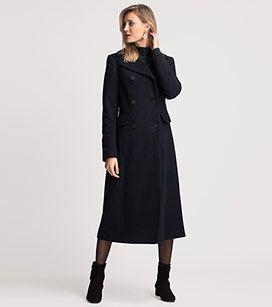 Mantel in der Farbe dunkelblau bei C&A
