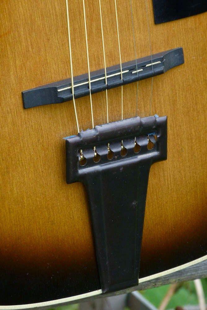 C 1942 Harmony H917 Stella Parlor Guitar Guitarras Puentes