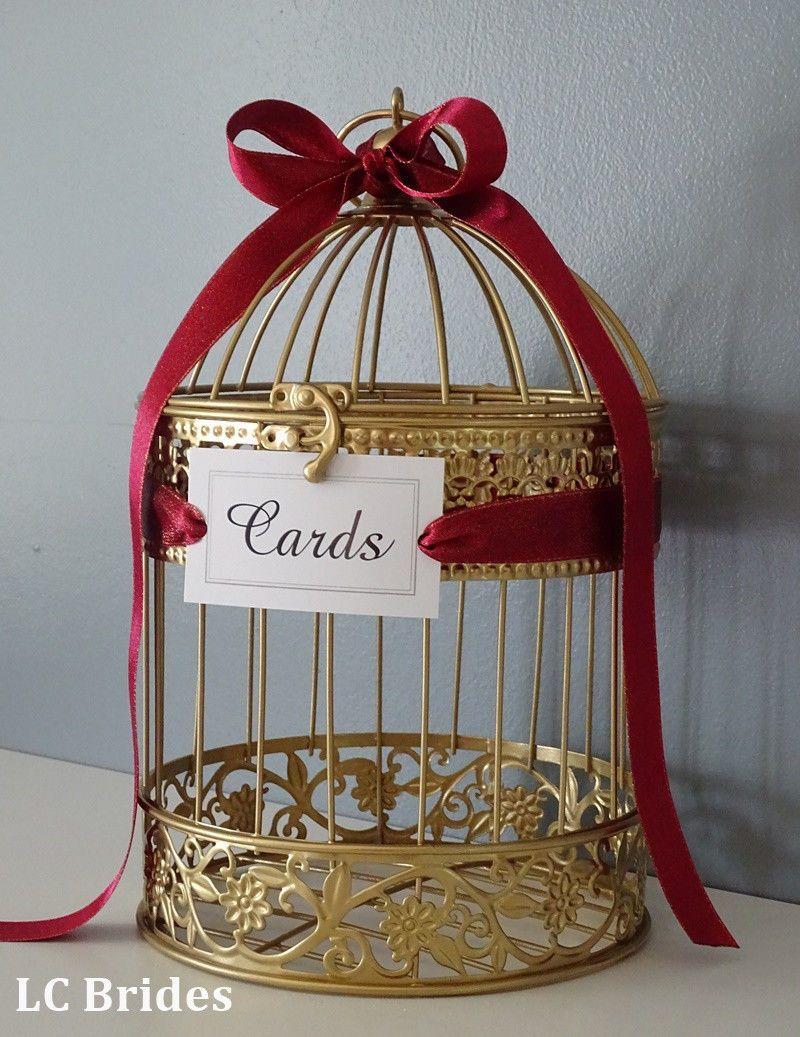 Card boxes and wishing wells 168189 birdcage wedding gift