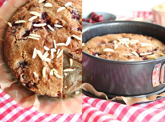 Buchweizenkuchen Mit Walnussen Und Kirschen Buchweizen Kuchen Lebensmittel Essen Buchweizen