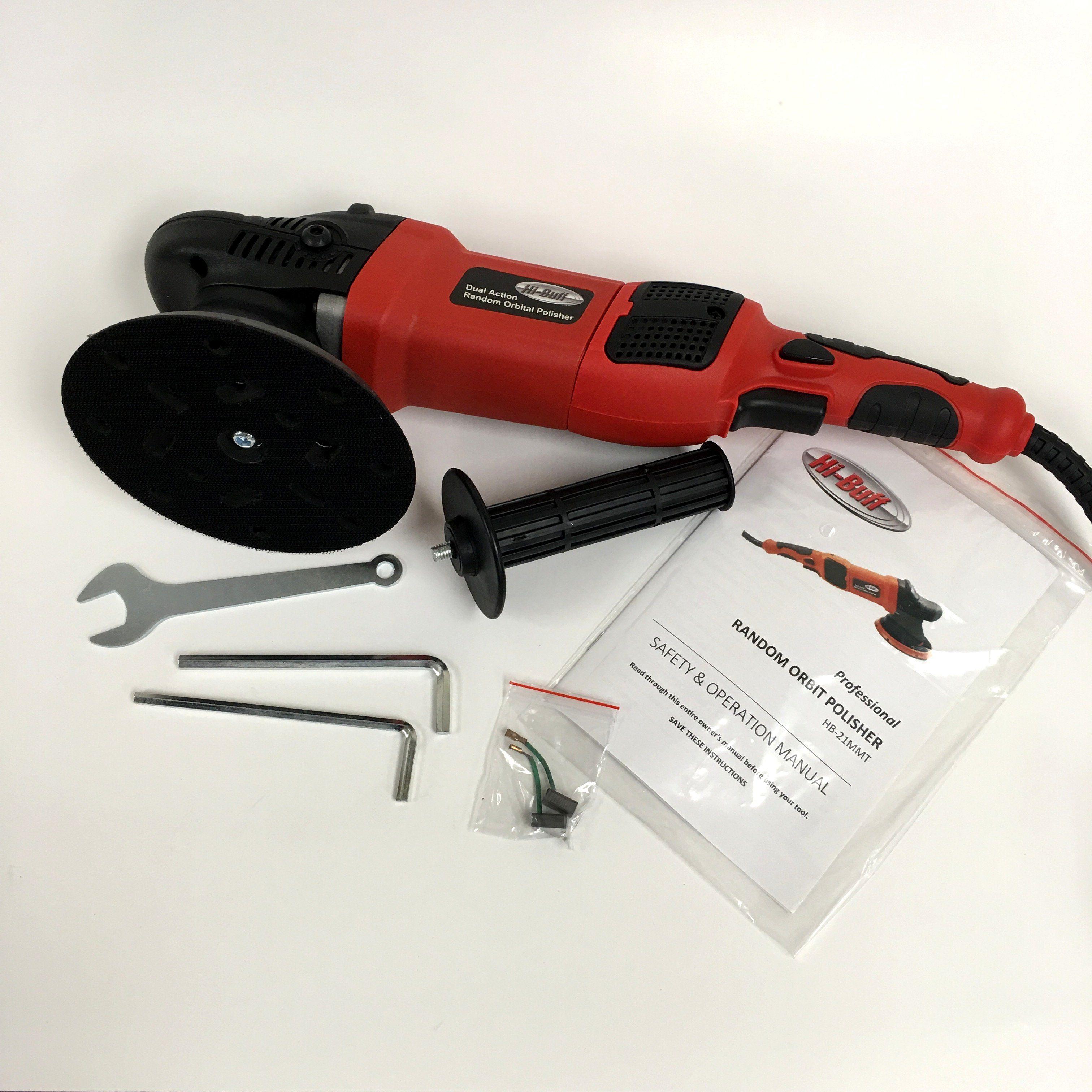 21mm Long Throw Dual Action Polisher Starter Kit Dual