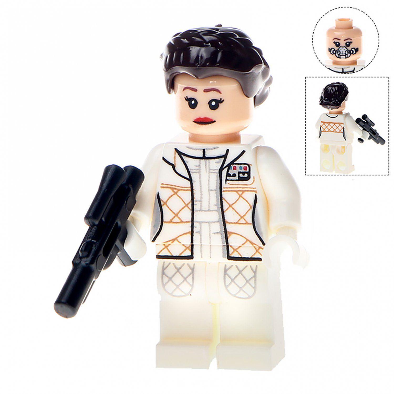 Princess Leia figure Star Wars compatible with Lego