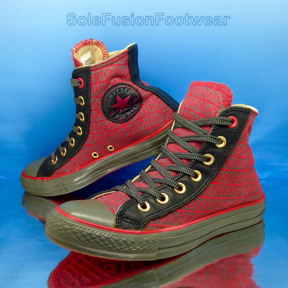 48b2dc8d026 Converse Womens All Star Trainers size 5 Product Red Vintage Sneakers US 7  37.5