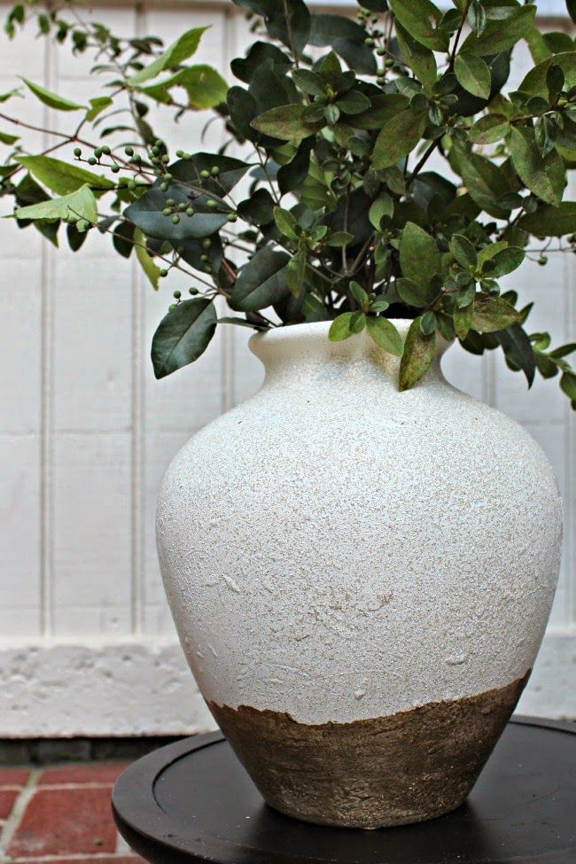 Knock Off Pottery Barn Tuscan Urn Southern State Of Mind Diy Pottery Pottery Barn Inspired Pottery Barn Lamps