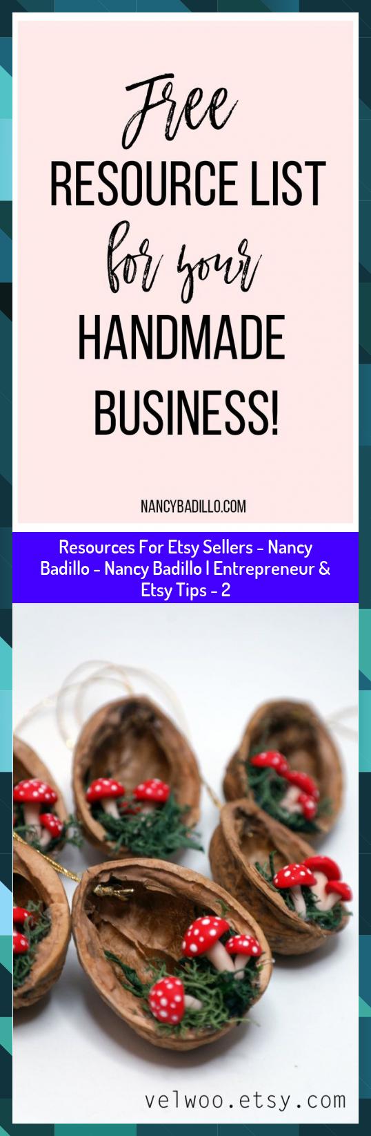 Resources For Etsy Sellers - Nancy Badillo - Nancy Badillo | Entrepreneur & Etsy Tips - 2 #Badillo #Entrepreneur #Etsy #Nancy #Resources #Sellers #Tips