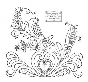 Pennsylvania Dutch Embroidery Patterns | Embroidery | Embroidery